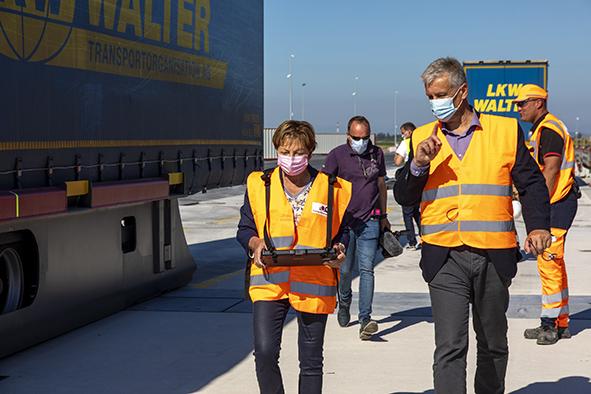 CargoBeamer terminal de Calais